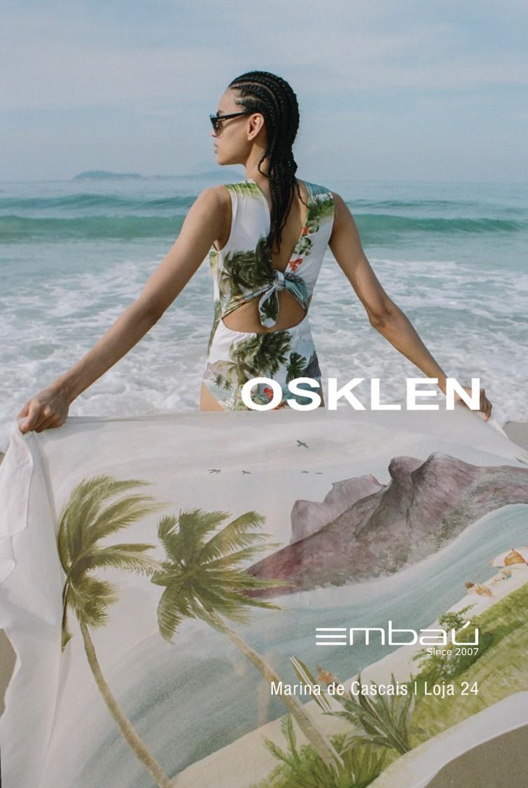 Nova colecção Primavera-Verão Osklen na Embaú