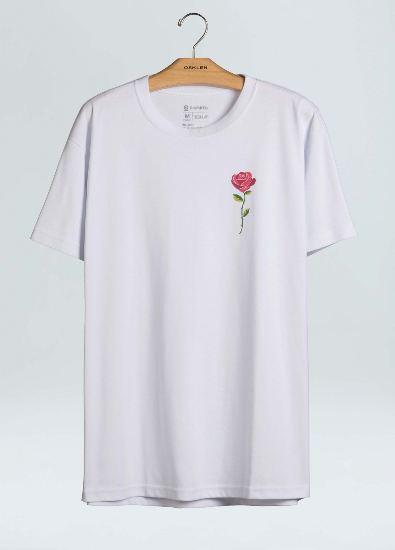 Big-Shirt Osklen Skate Rose Color