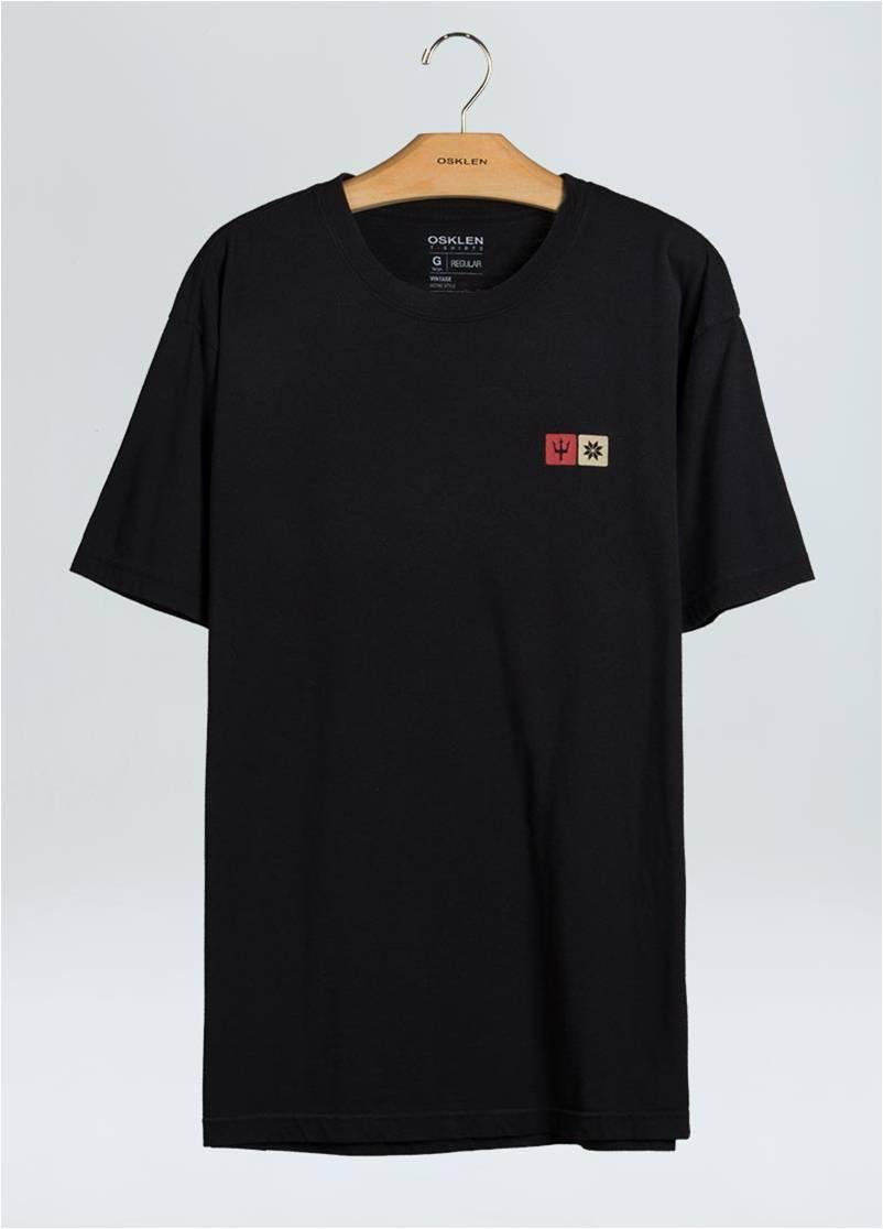 T-Shirt Masculina Regular Color Snowgram