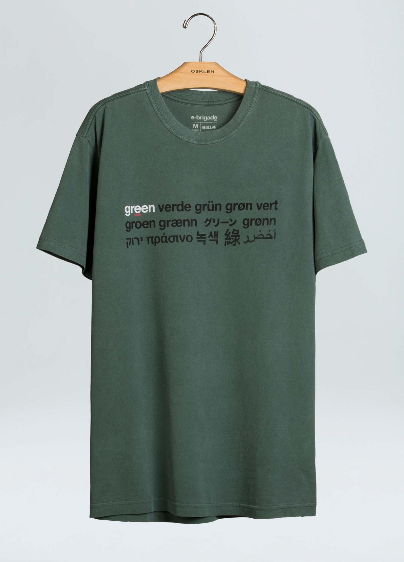 T-Shirt Osklen Stone Verde