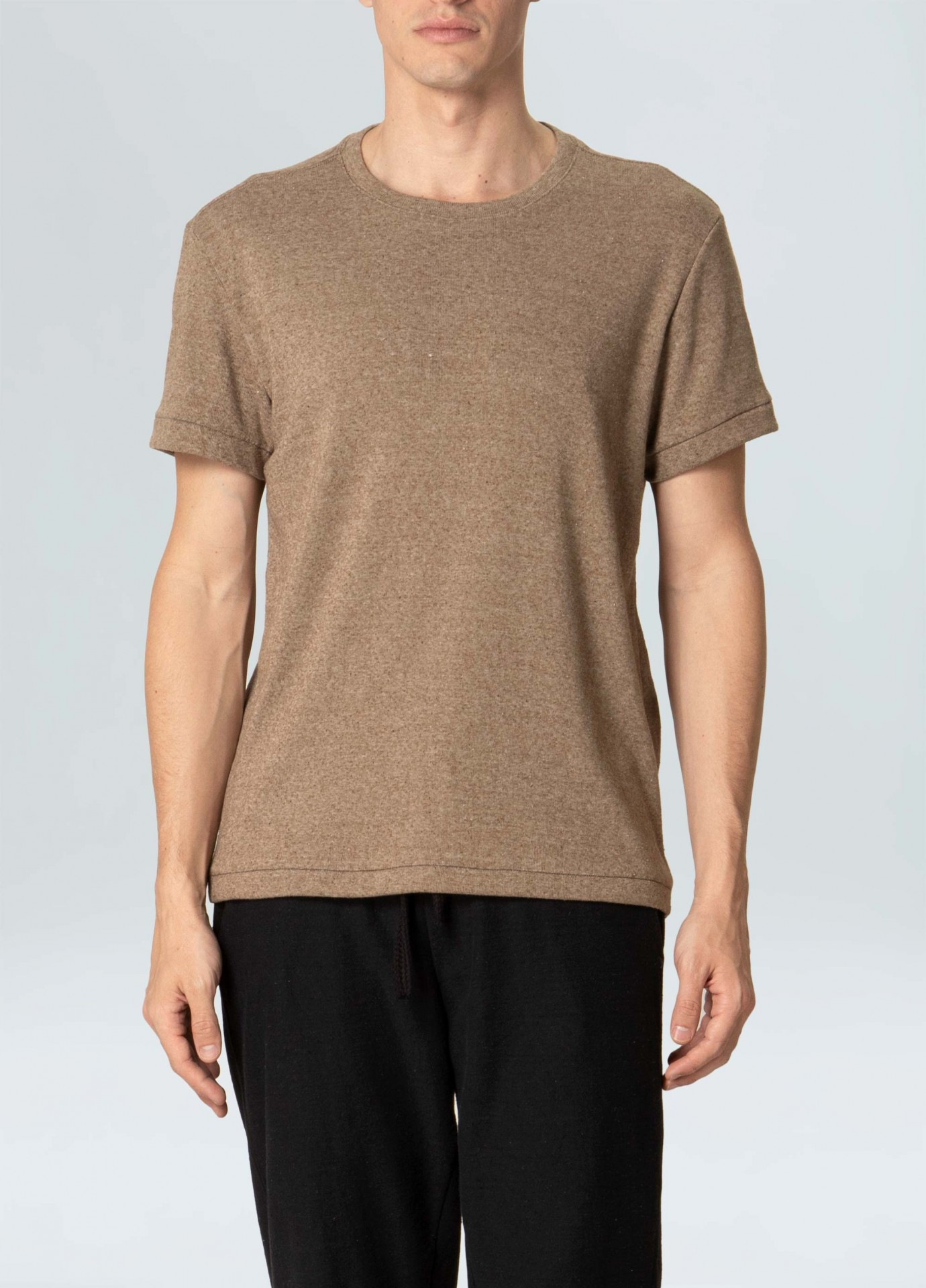 T-Shirt Osklen Eco Ribbed Night Hem