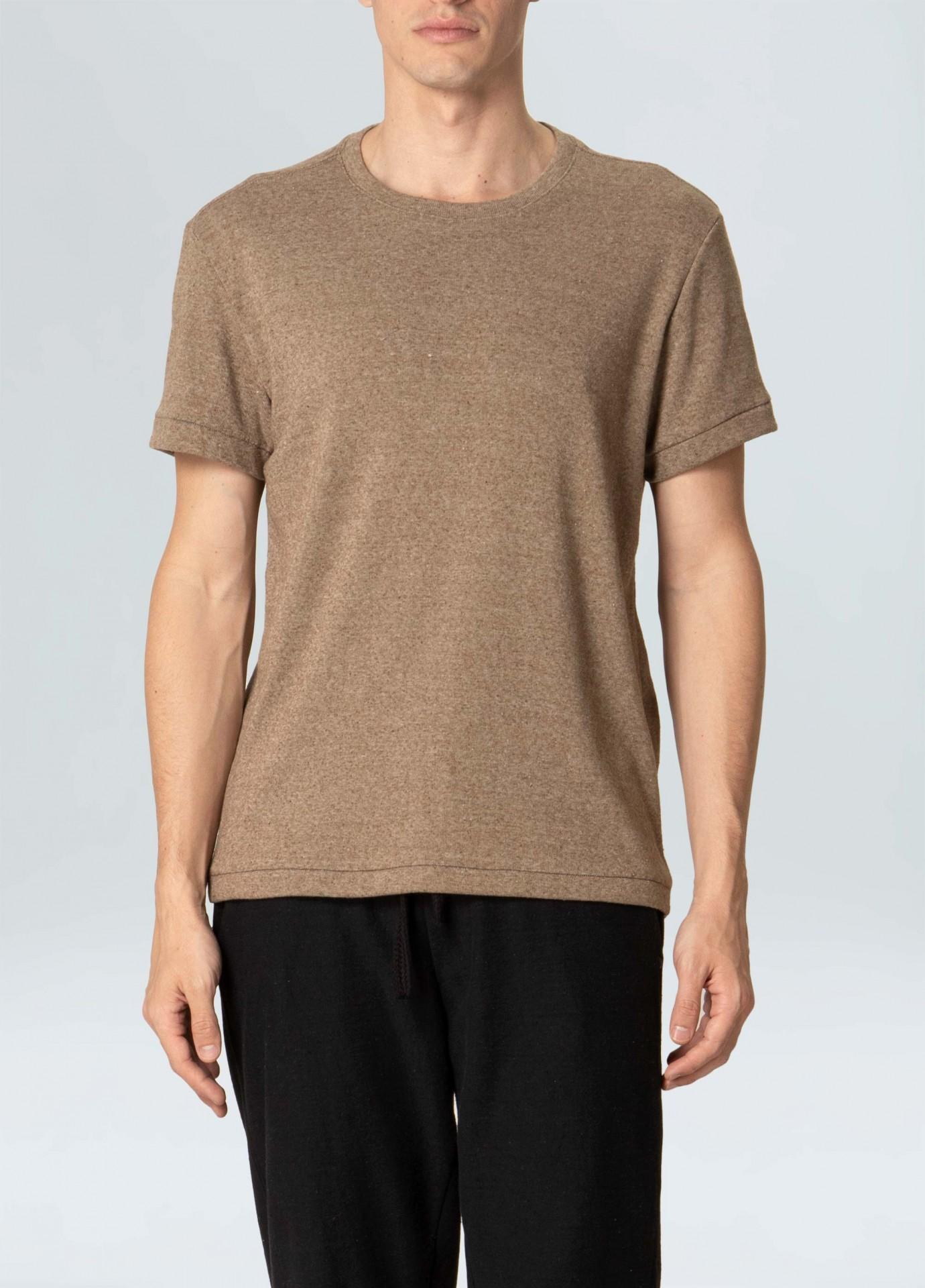 T-Shirt Osklen Eco Ribbed Night Hem