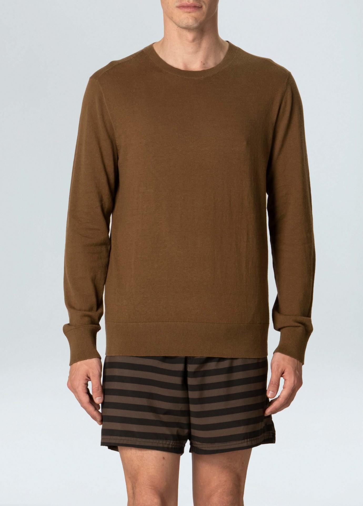 Sweater Masculino Osklen Tricot Classic Cotton