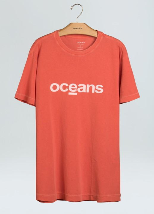 T-Shirt Masculina Osklen Stone Old Oceans