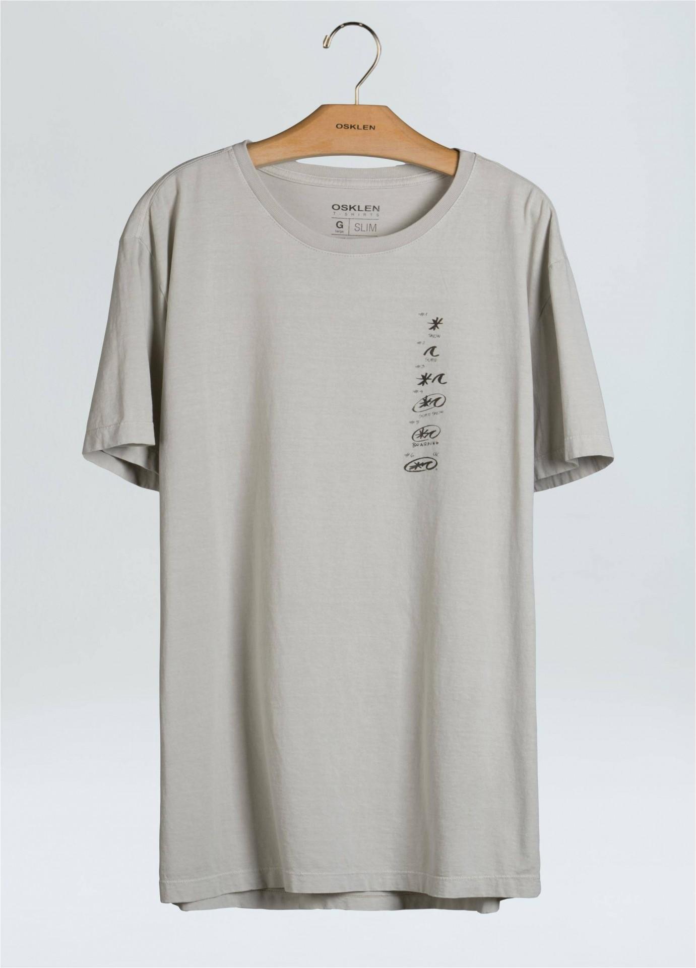 T-Shirt Masculina Stone Vintage Creative Process