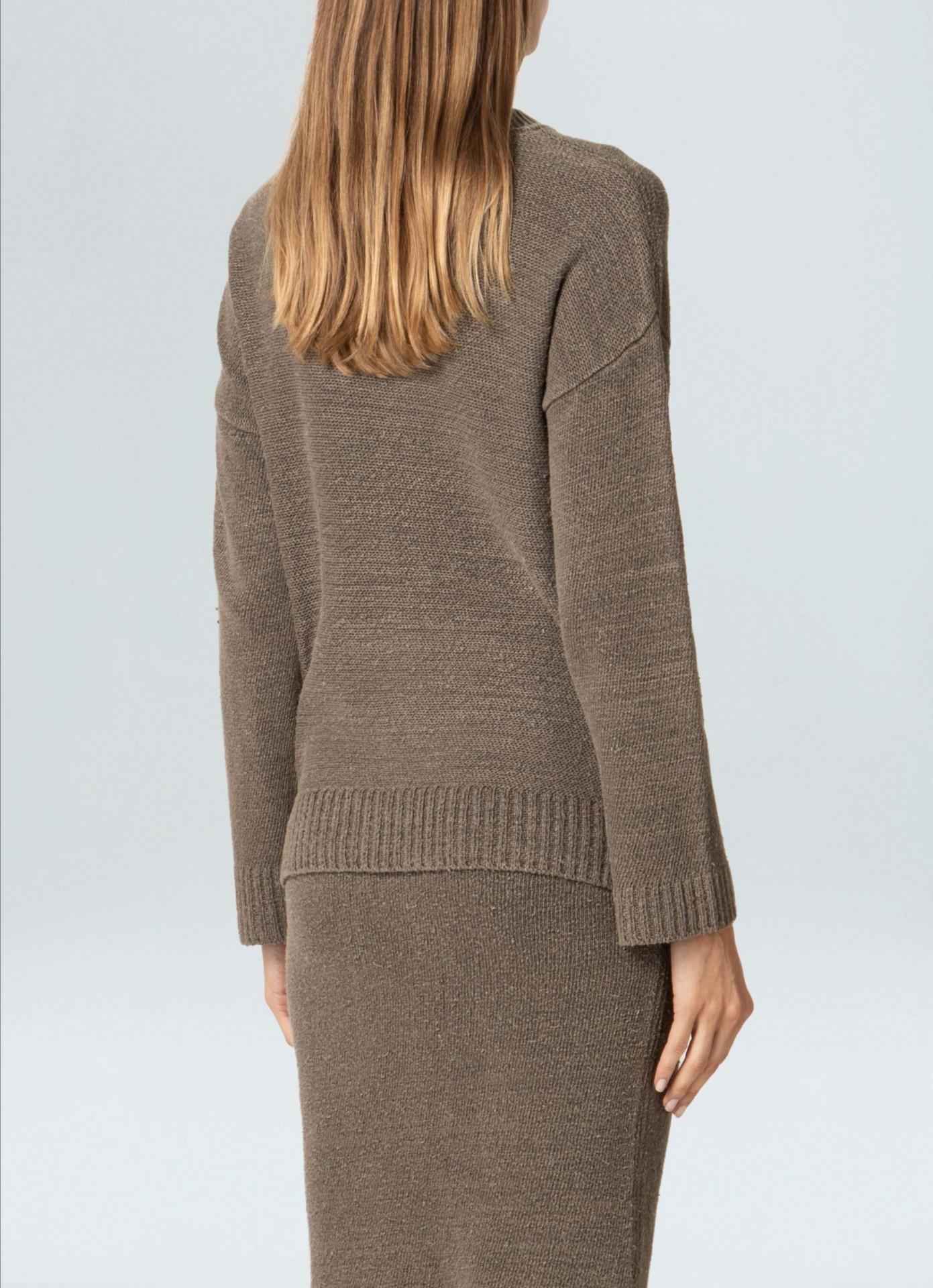 Sweater Feminino Osklen Fit Cotton E Fabrics