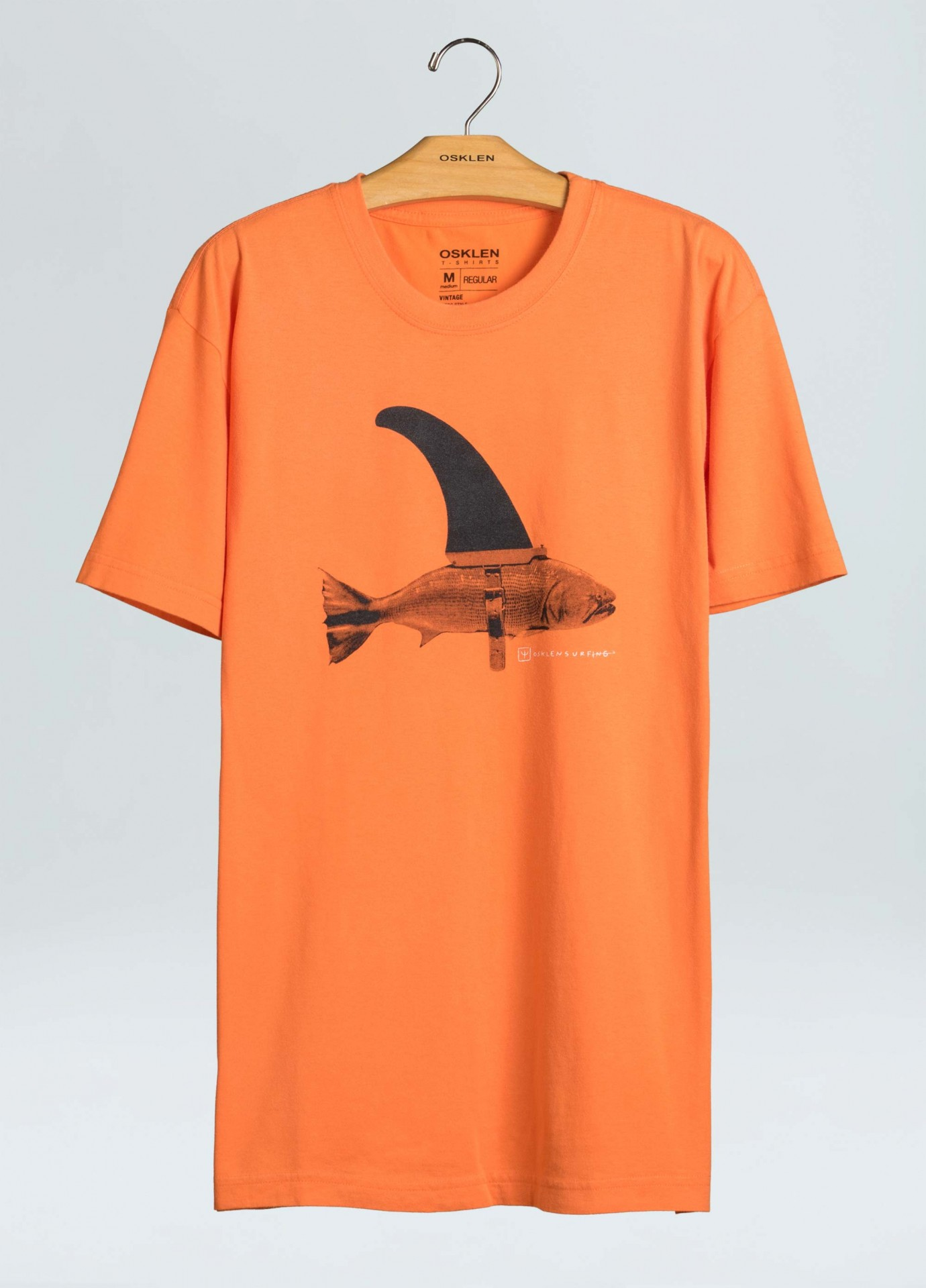T-Shirt Osklen Regular Fin Fish