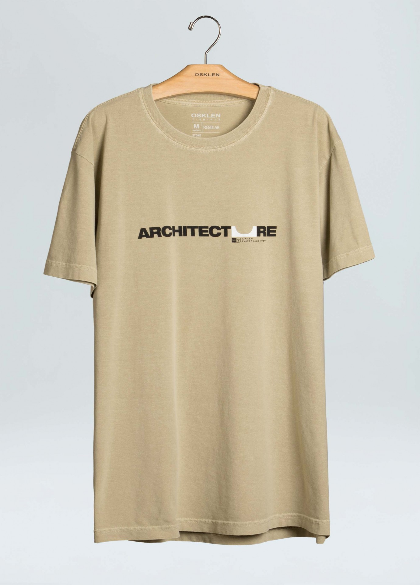 T-Shirt Osklen Stone Sk8 Architecture