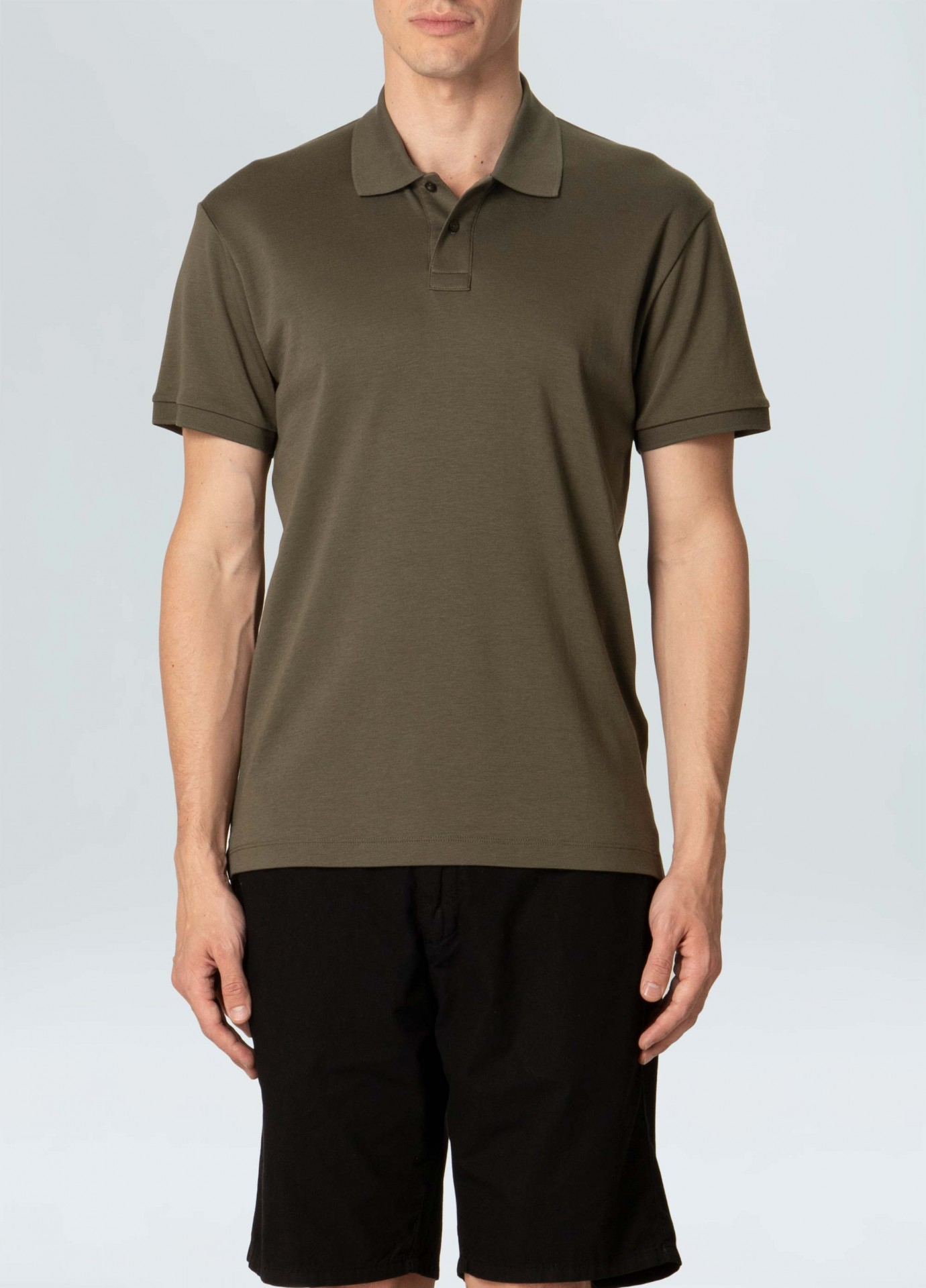 Polo Masculina Osklen Supersoft