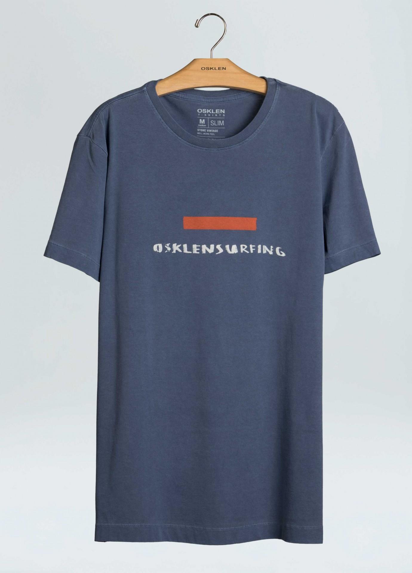T-Shirt Stone Vintage Osklen Srfng Tape