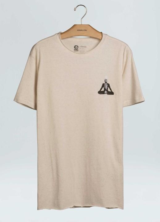 T-Shirt Osklen Cânhamo Iogue