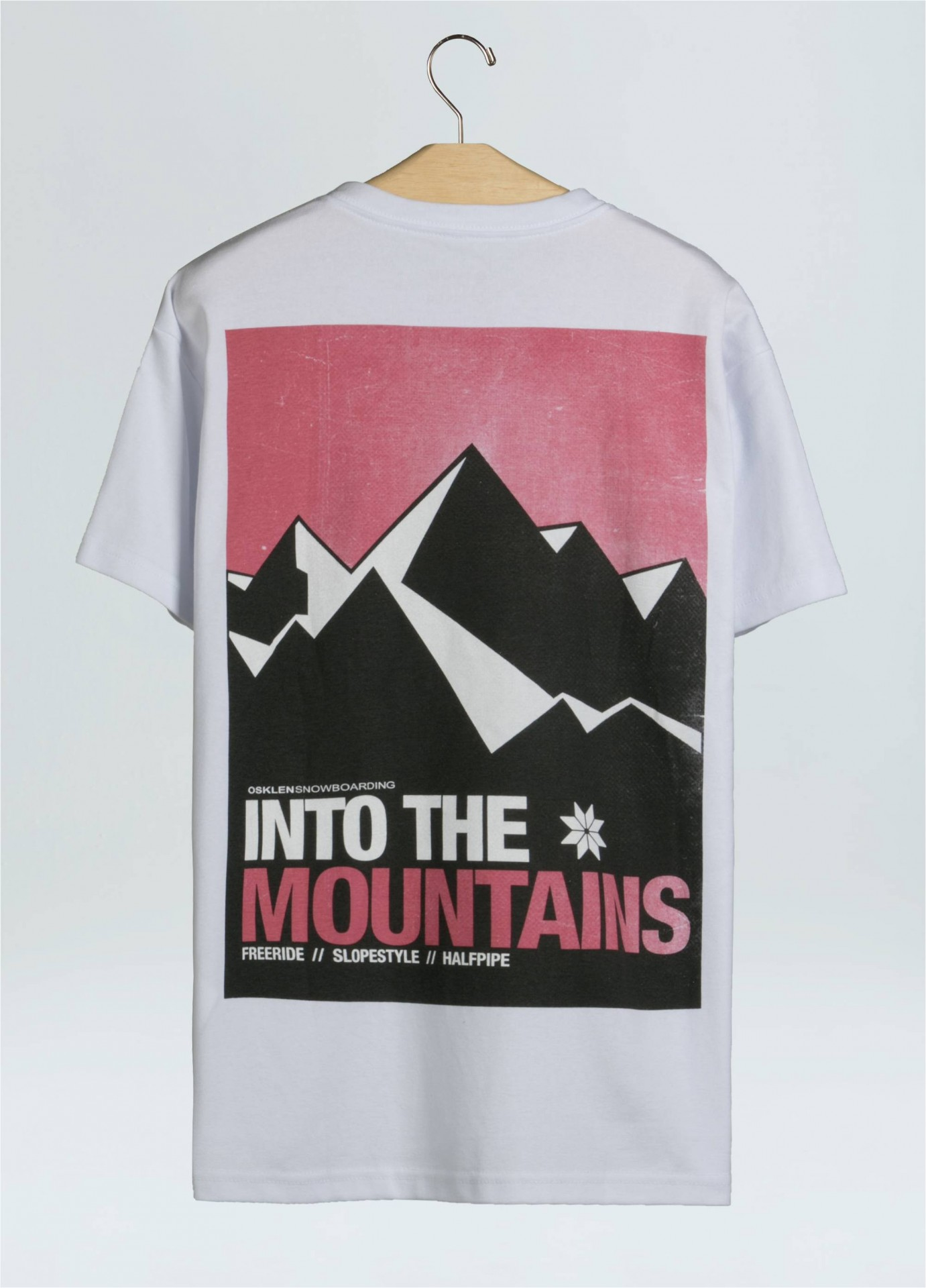 BIG SHIRT MONTAINS POSTER OSKLEN
