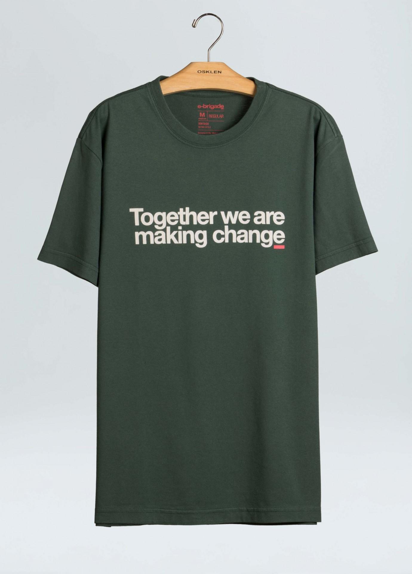 T-Shirt Osklen Regular Together