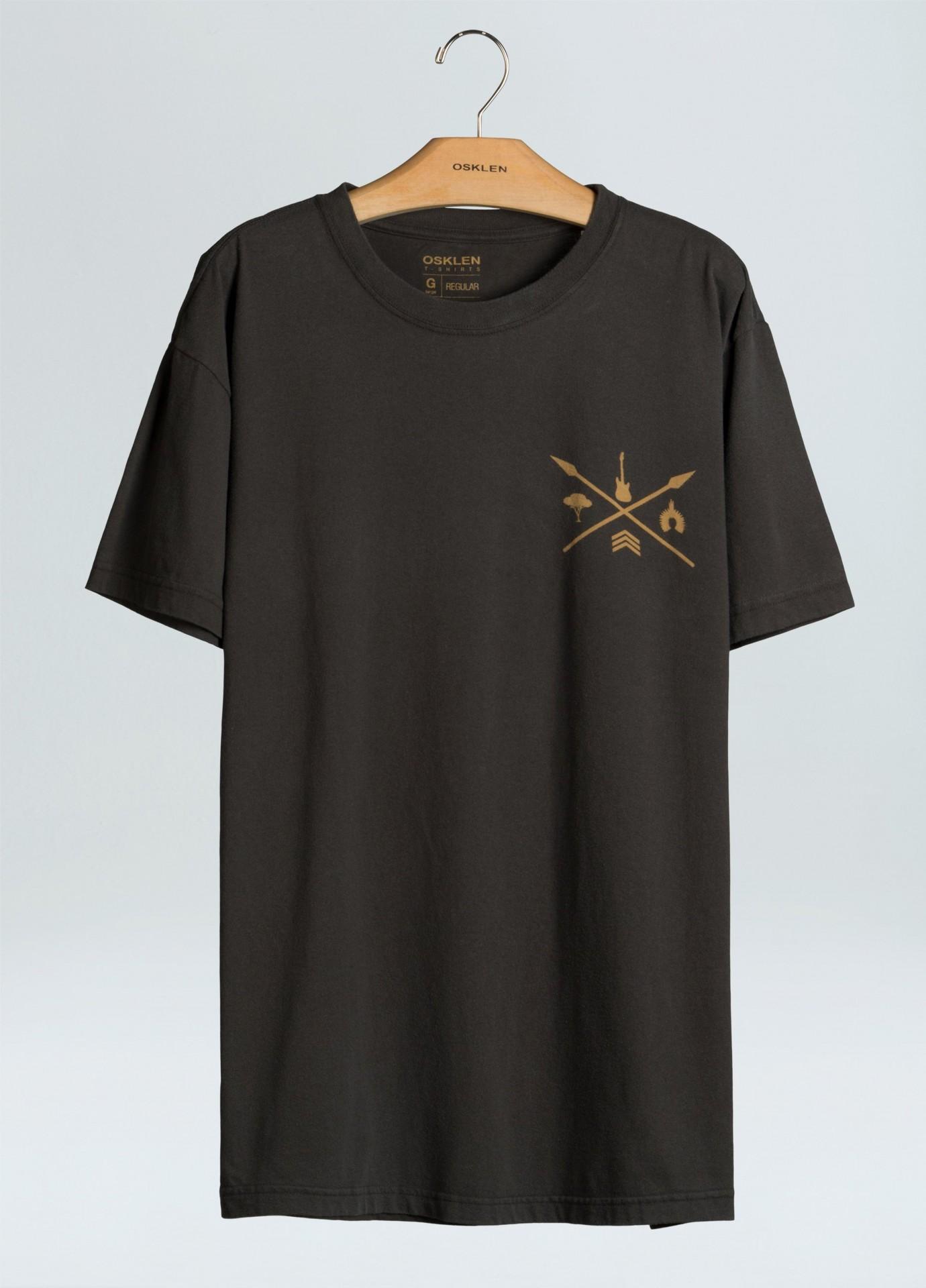 T-Shirt Masculina Regular Color Guardians X