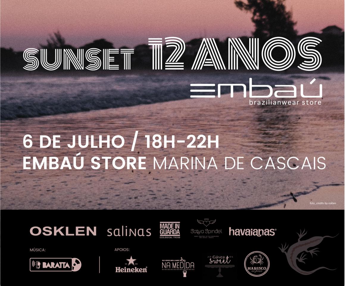 Sunset 12 anos da Embaú