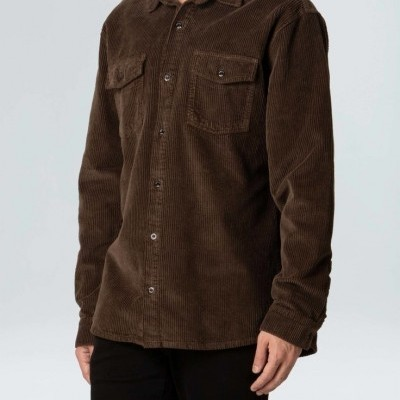 Camisa Masculina Osklen Velvet Corduroy Ml