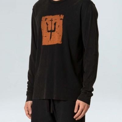 T-Shirt Long Sleeve Osklen Double Old Sk8 Trid