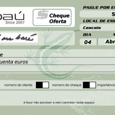 Cheque-Oferta Embaú 50
