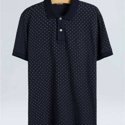 POLO PIQUET FLOWER DOTS OSKLEN