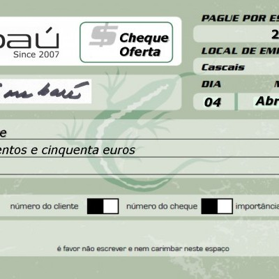 Cheque-Oferta Embaú 250