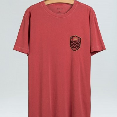 T-Shirt Masculina Osklen Stone Old Brasão
