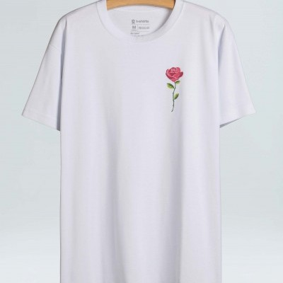 Big-Shirt Osklen Skate Rose Color