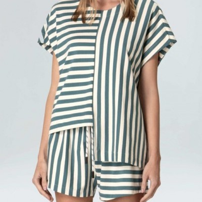 Blusa Feminina Osklen Sleeveless Summer Stripe