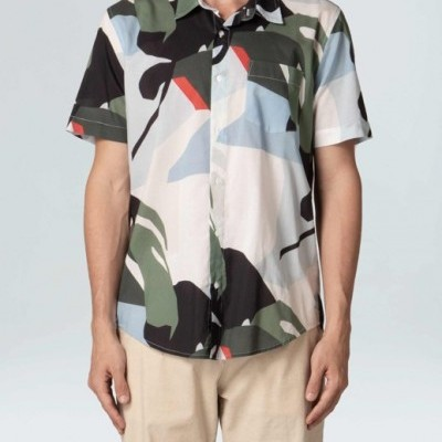 Camisa Masculina Osklen Hotel Mc