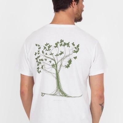 T-shirt Árvore Flamê Stoned MiG