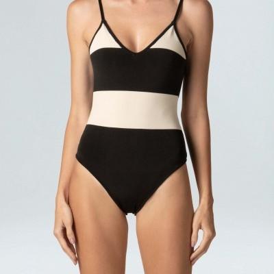 Swimsuit Osklen Tricot Listras Decote V