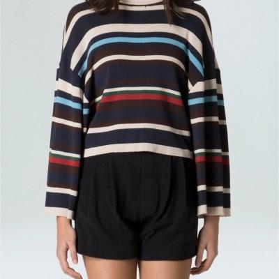Blusa Feminina Mix Stripes