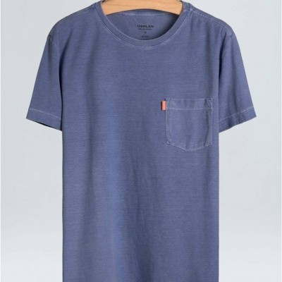 T-SHIRT WASHED POCKET OSKLEN