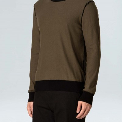 Sweater Masculino Osklen Tricot Double Basic