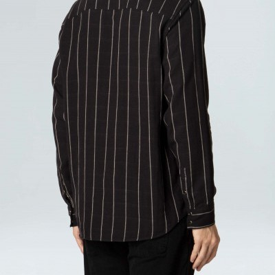 Camisa Masculina Osklen Double Pitch Dark Ml