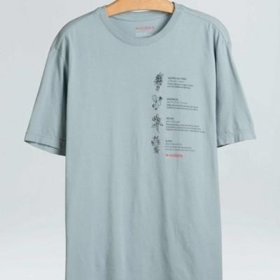 T-Shirt Osklen E-Color Plants