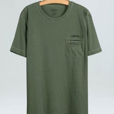 T-Shirt Old E-Brigade Text Osklen
