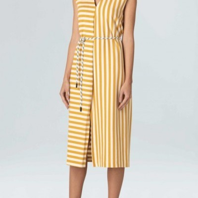 Vestido Osklen Sleeveless Summer Stripe