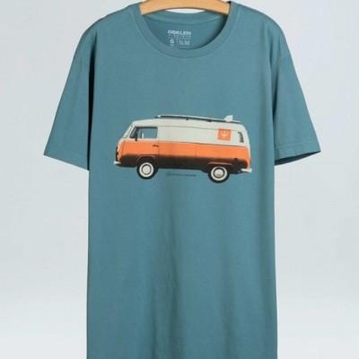T-Shirt Masculina Osklen Vintage Van