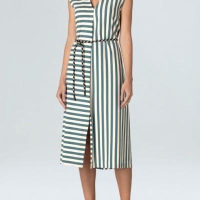 Vestido Osklen Sleeveless Summer Stripe