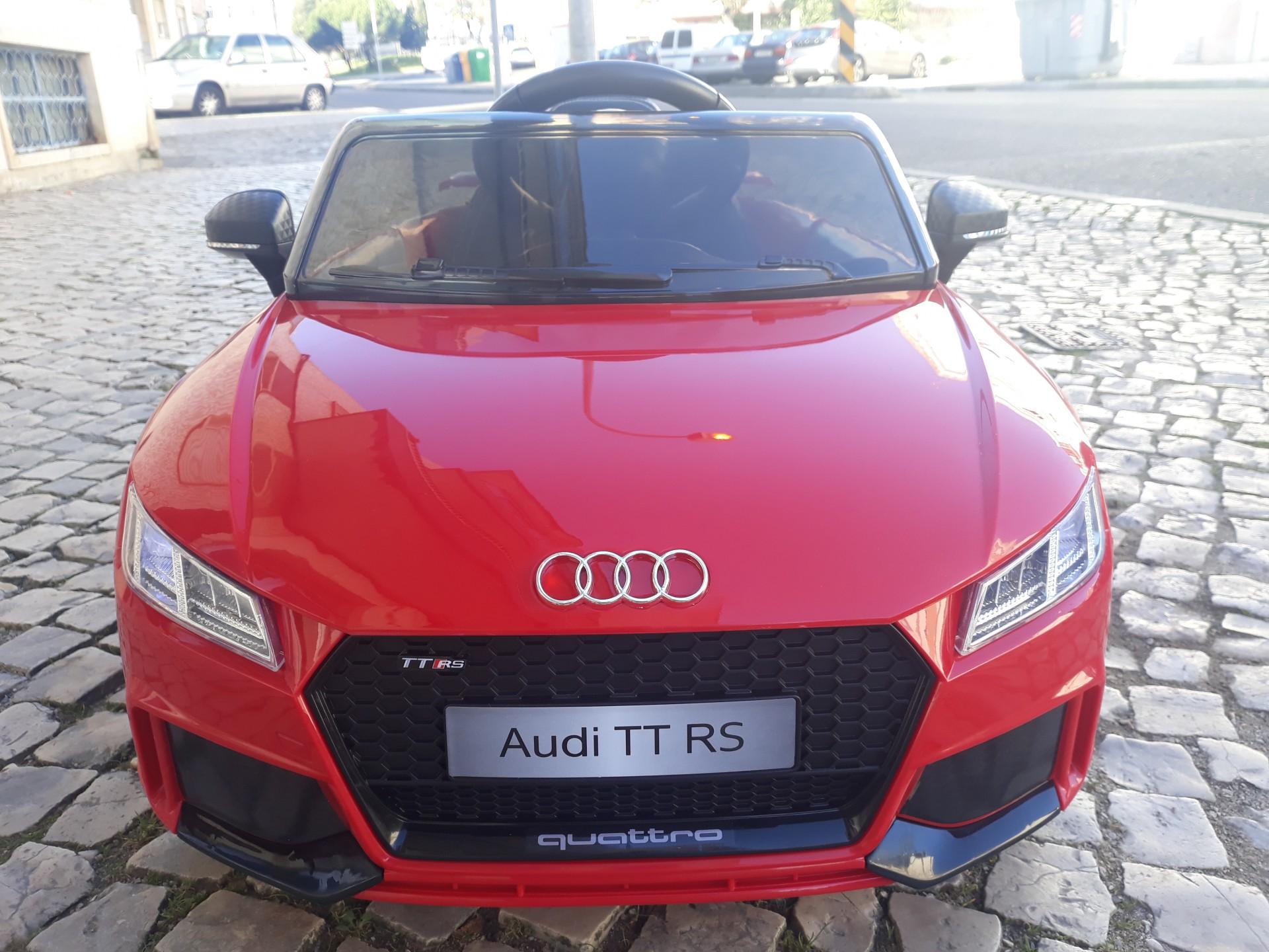 Carro Eletrico Para Crianca Audi Tt Rs Vermelho Emundo Pt