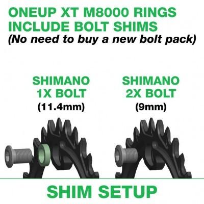 Pratos OneUp XT M8000/SLXM7000