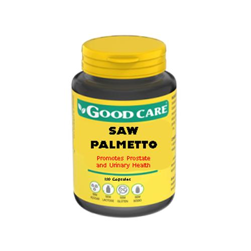 Saw Palmetto 120 Cápsulas Good Care