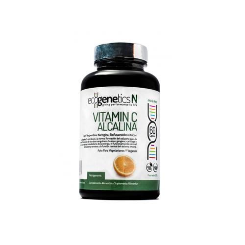 EcogeneticsN Vitamin C Alcalina 60 Cápsulas Nutrigenomic