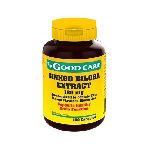 Ginkgo Biloba 120mg - 100 Cápsulas Good Care