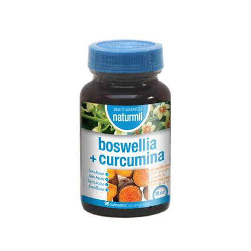 Boswellia + Curcumina - 90 Comprimidos Naturmil