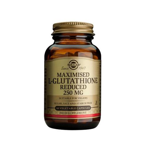 L-Glutationa Maximizada 250mg - 60 Cápsulas Solgar
