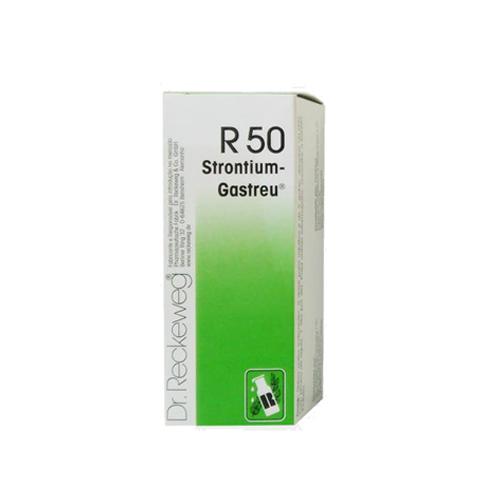 R-50 Gotas 50ml - Dores Lombares, Ciática - Dr. Reckeweg