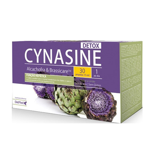 Cynasine Detox Alcachofra e Brassicare 30 Ampolas Dietmed
