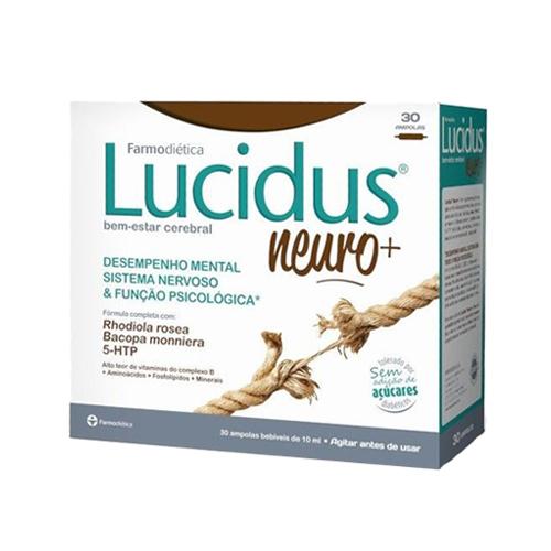 Lucidus Neuro+ 30 Ampolas Farmodiética