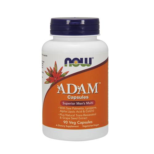 Adam Multivitamínico Superior para Homens 90 Cápsulas Now